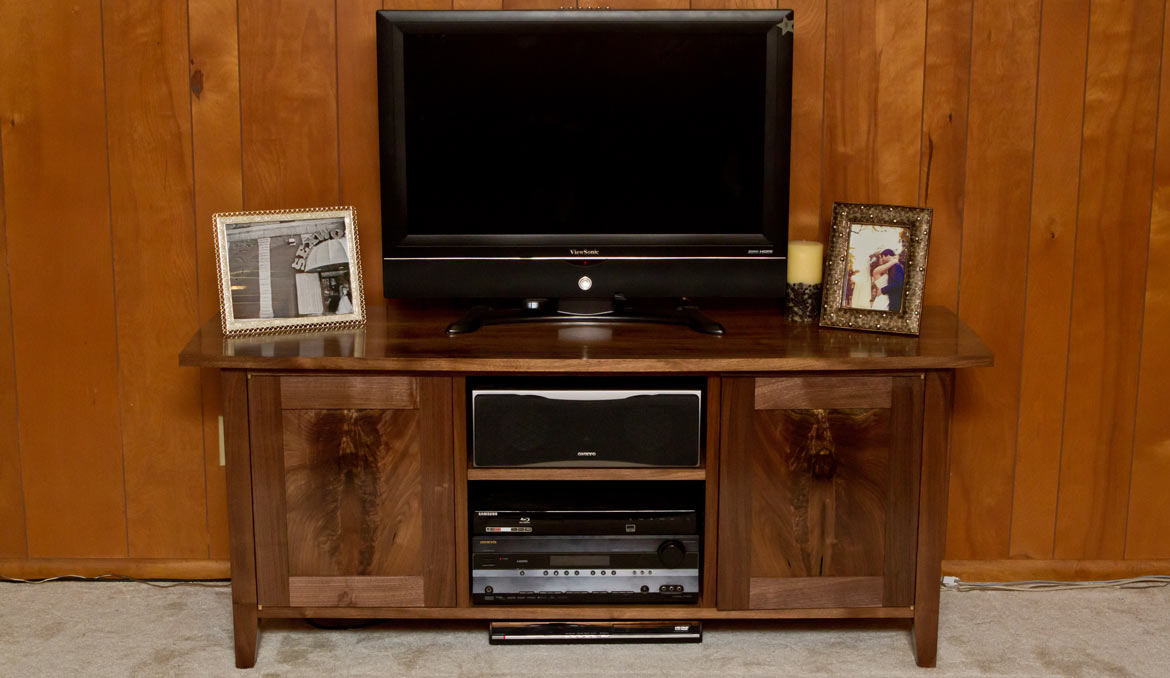 Walnut Tv Stand Tv Stand In Walnut And Charcoal Id Zuo