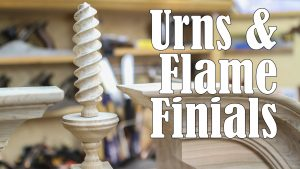 Urns and Flame Finials