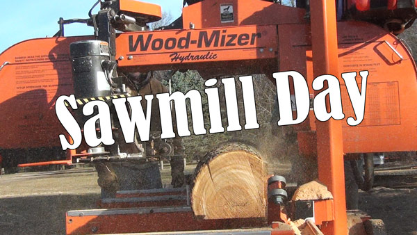 Jim's Homemade Swing Blade Sawmill