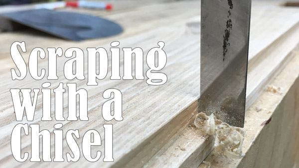 Scraping with a Chisel - Quick Tip