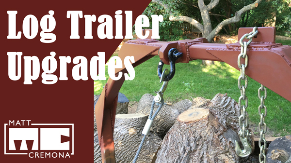 Log Trailer Upgrades