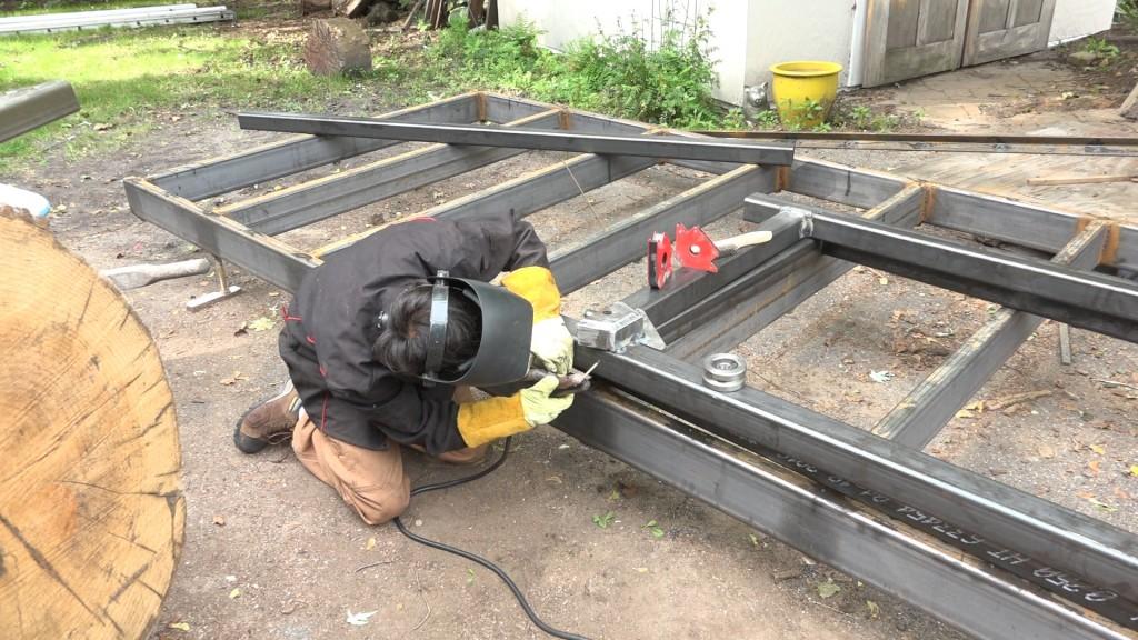 11 - welding on the fenders