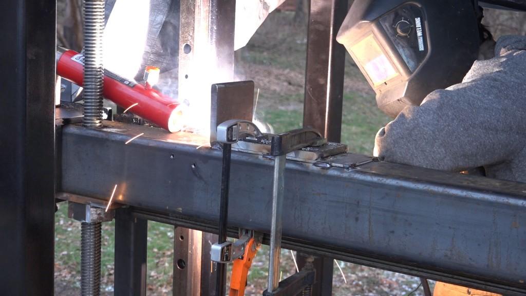 4 - tacking the filler