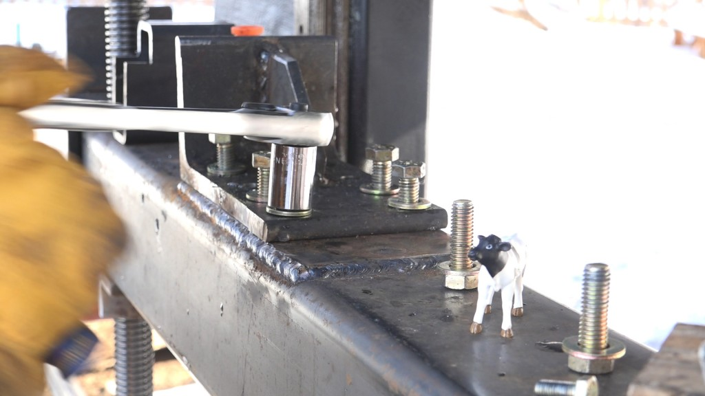 7 - installing the tensioner