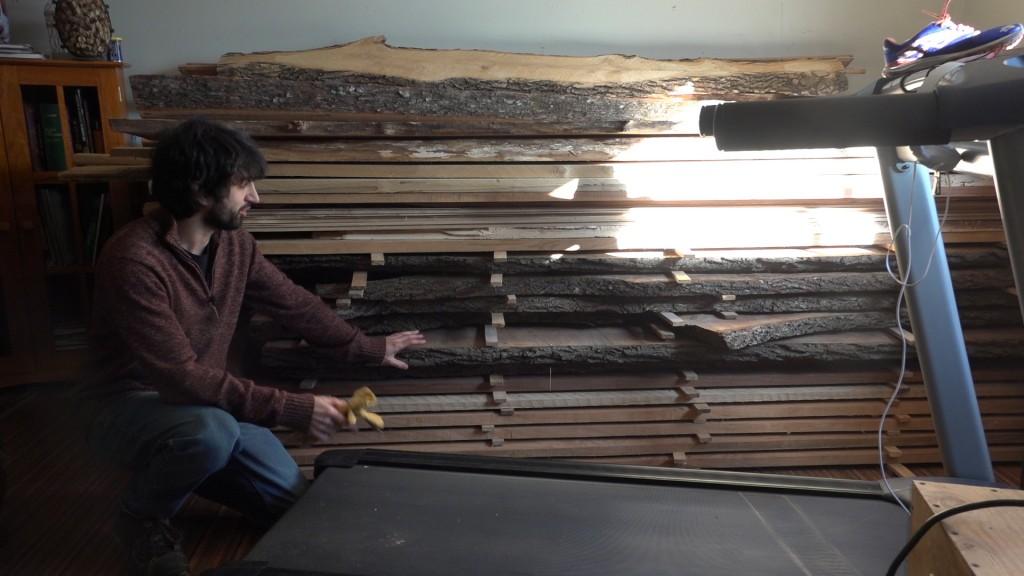 1 - lumber stack
