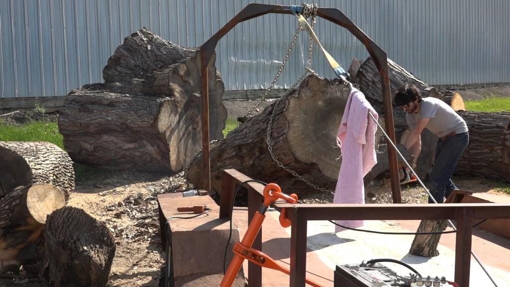 1 - the log pile