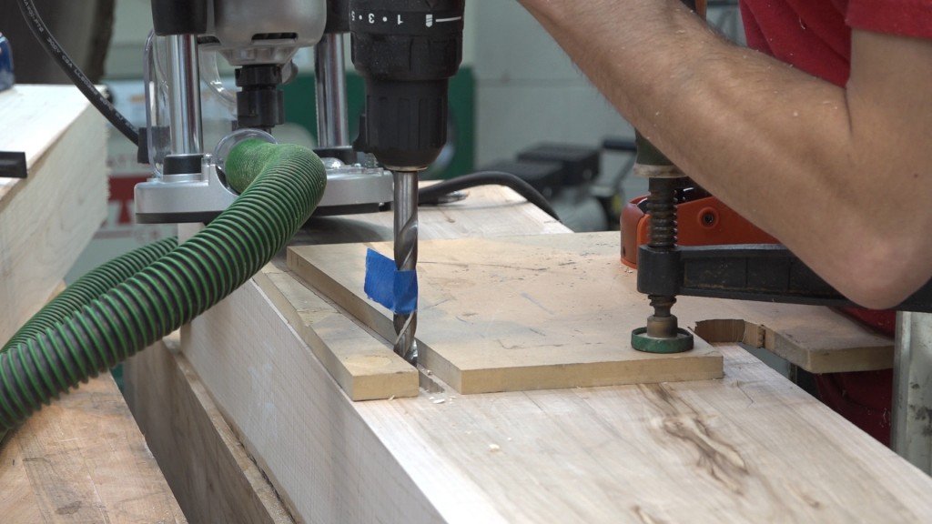 11 - cutting second mortise