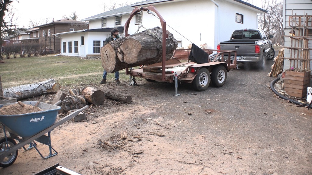 3 - moving the log