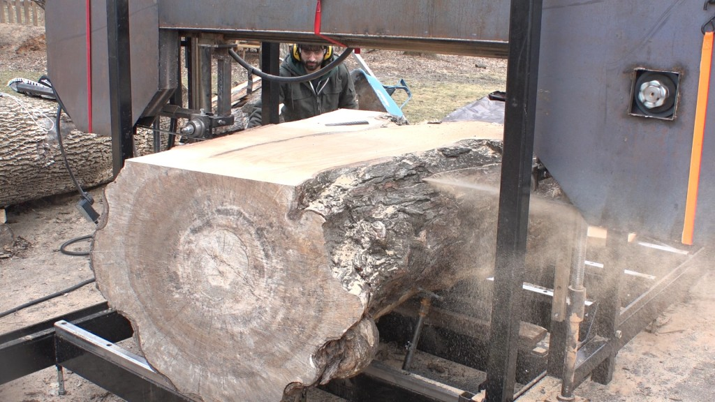 7 - cutting first slab