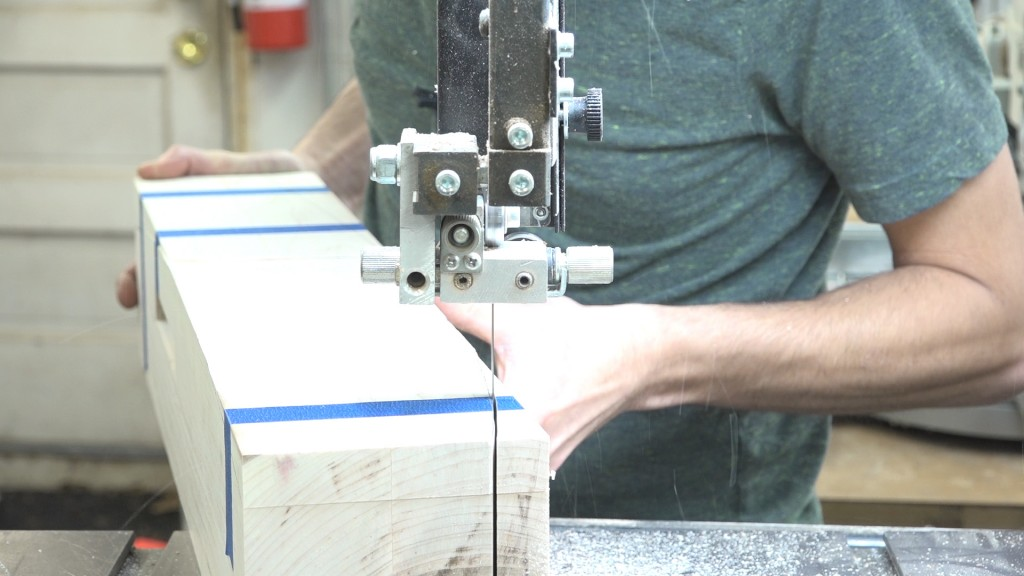 8 - cutting the post profile