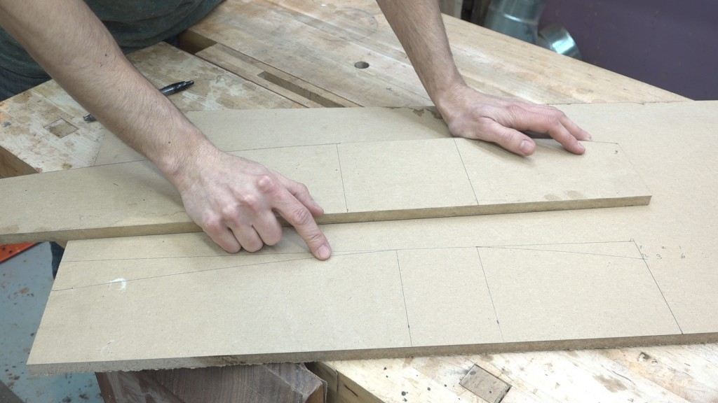 9 - footboard post template