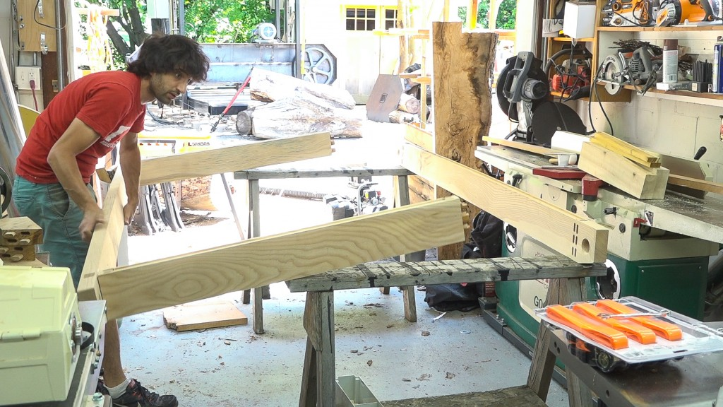 18 - frame glue up