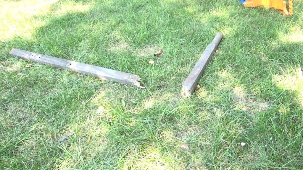 1 - broken handle