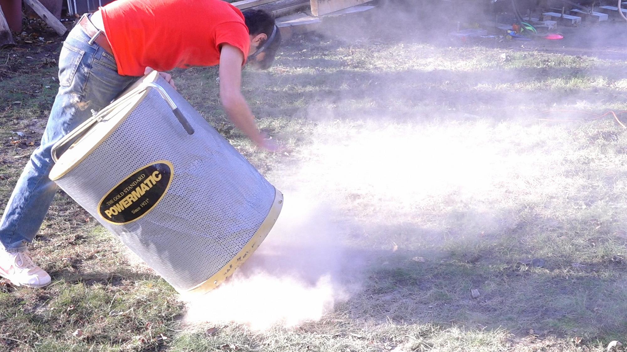 Dust Collector Upgrade – Matt Cremona