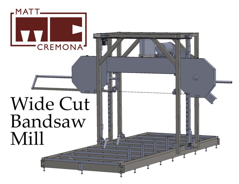 Sawhead Lift Motor and Chain Linkage – Matt Cremona