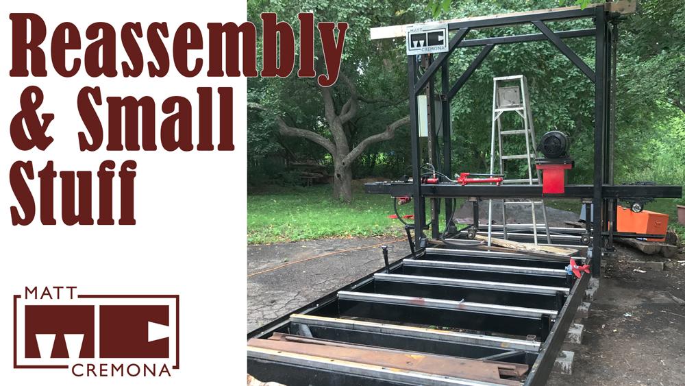 Bandsaw Mill Build – Matt Cremona